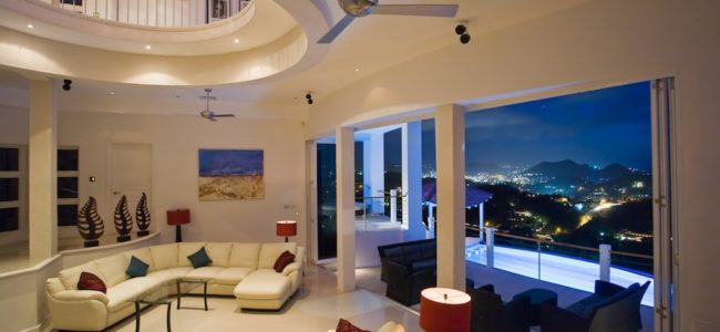 St Lucia Villa Rentals - Akasha - Living Room